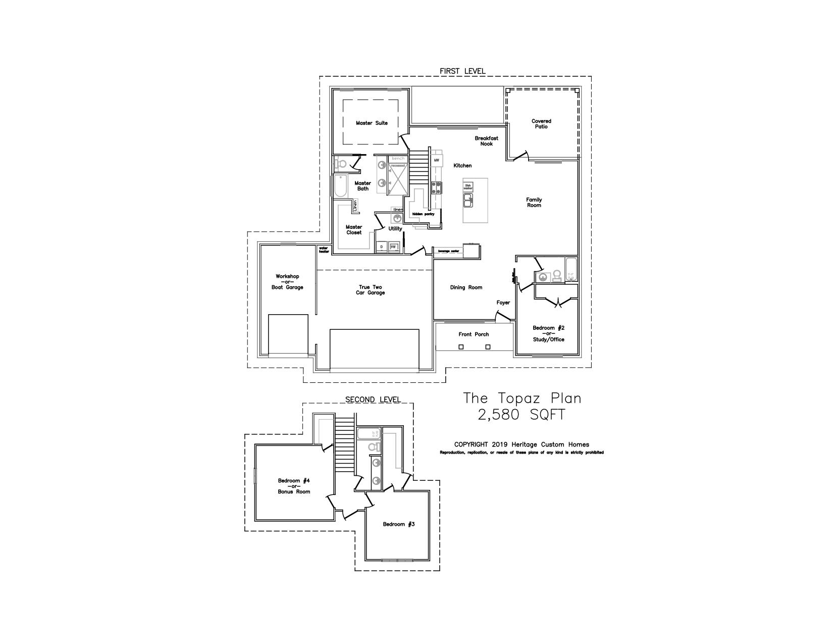 The Topaz Floorplan