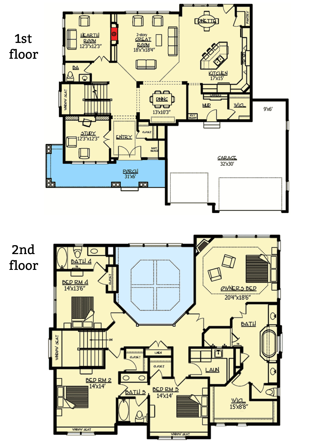 The Lone Star Floor plan