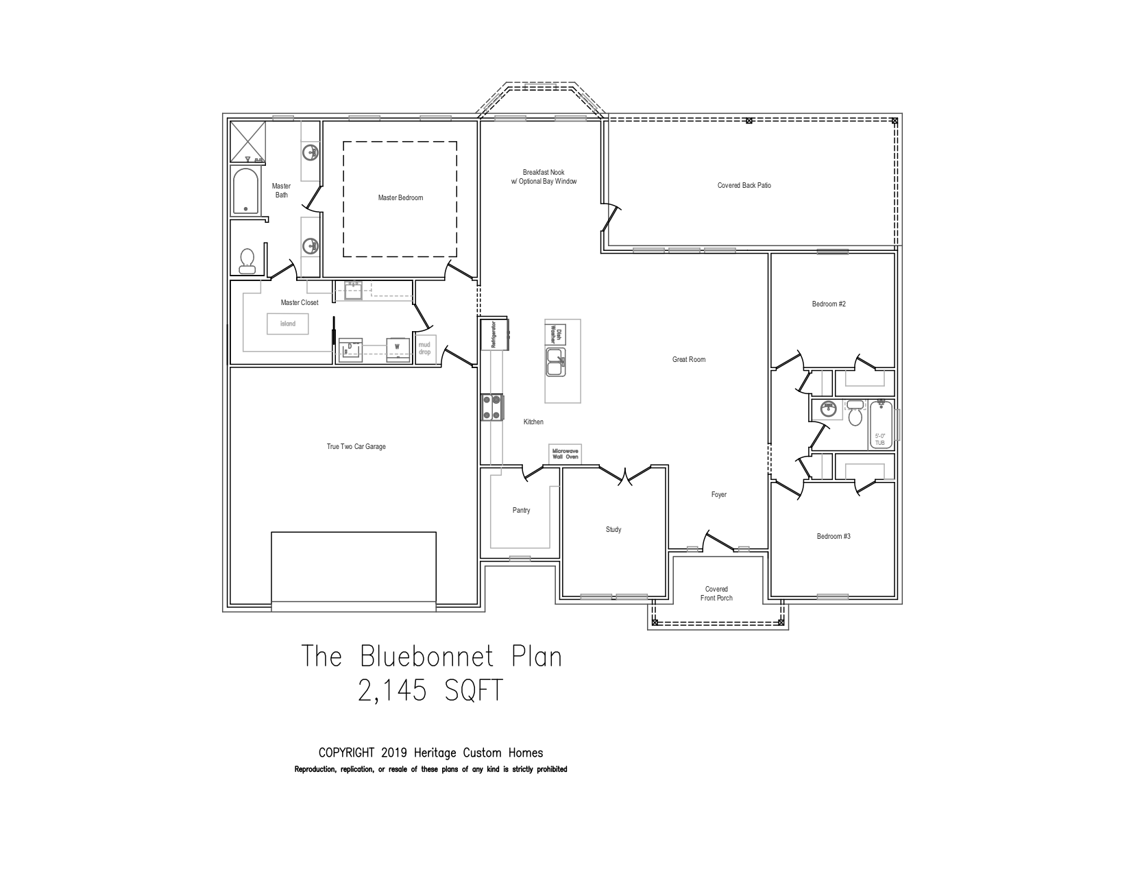The Mockingbird Floorplan