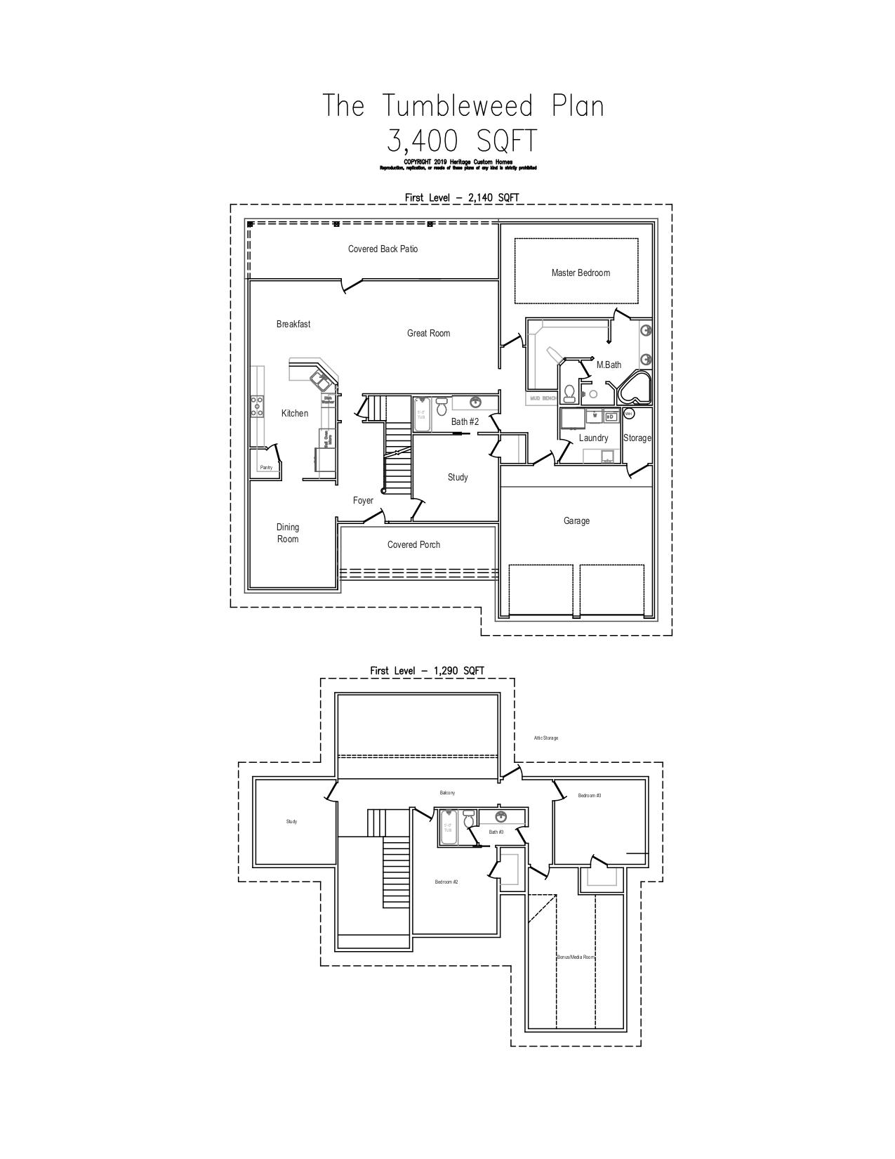 The Tumbleweed Floorplan