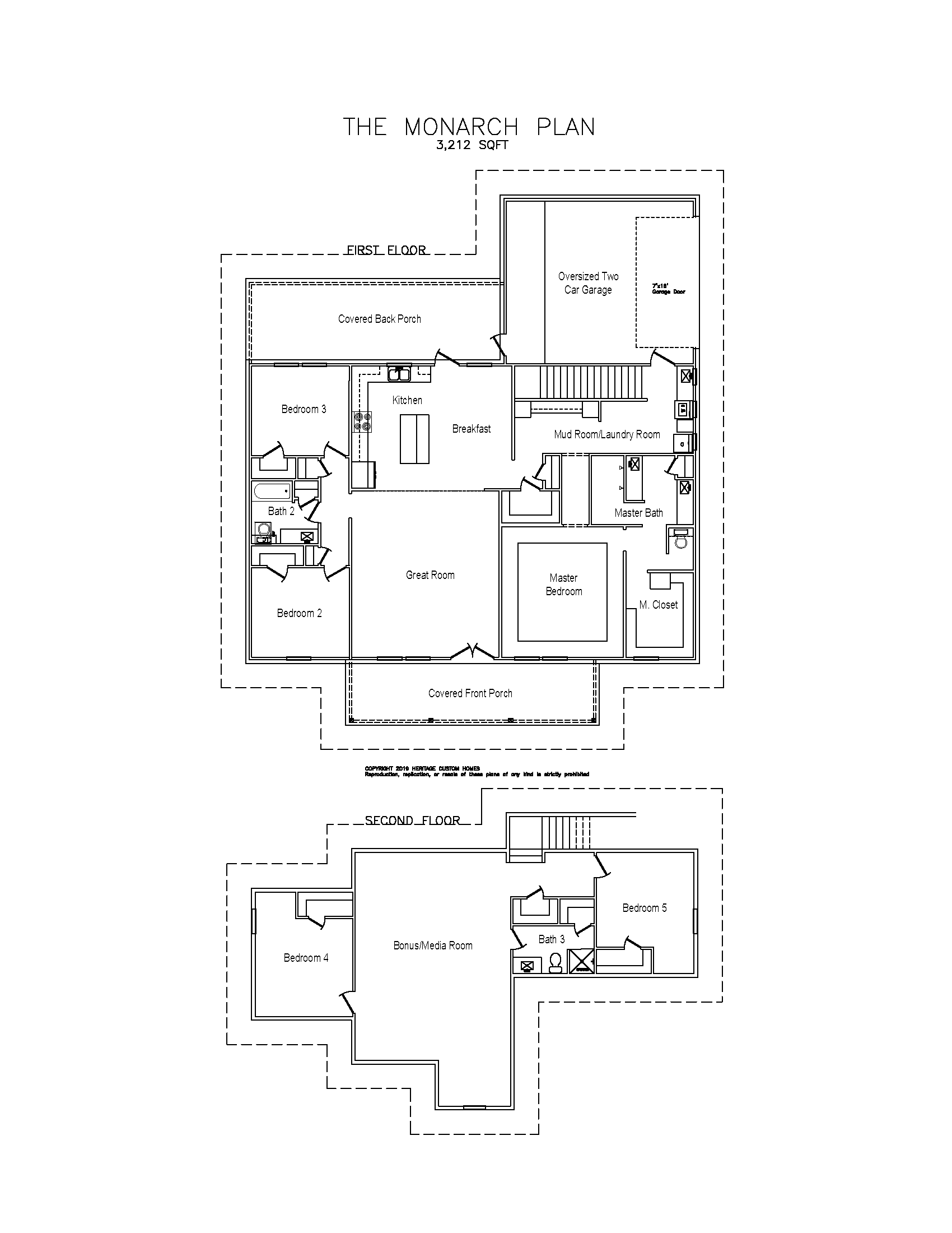 The Monarch Floorplan