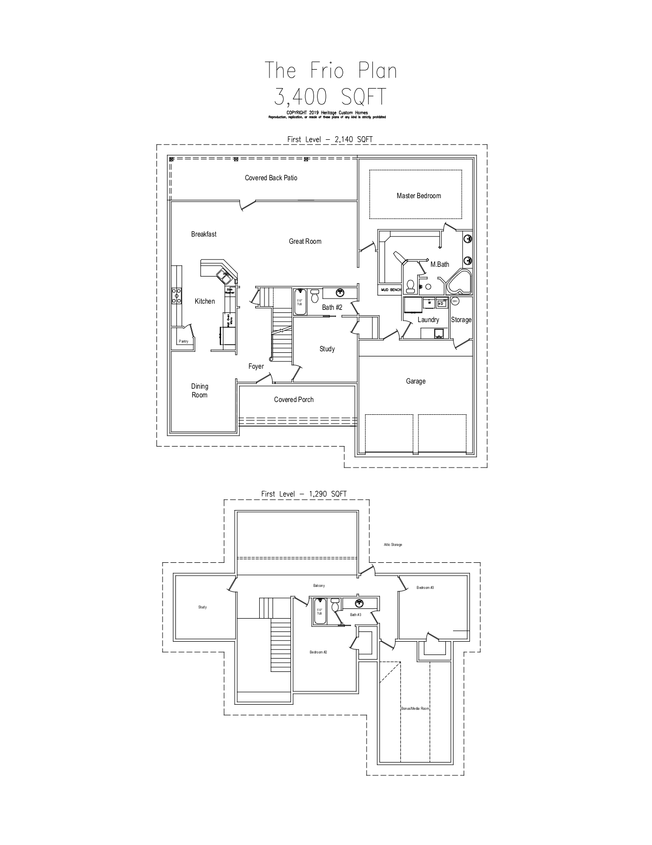 The Frio Floorplan
